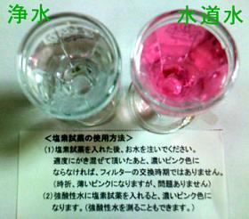 塩素試薬で実験!
