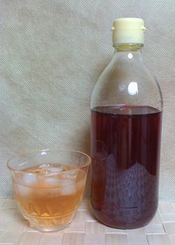 赤しそジュースを作りました♪