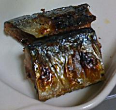 今日の夕飯は秋刀魚です